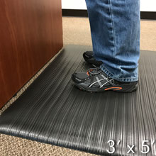 Air Step Anti-Fatigue Mat - 3' x 5' GM-AS-3X5