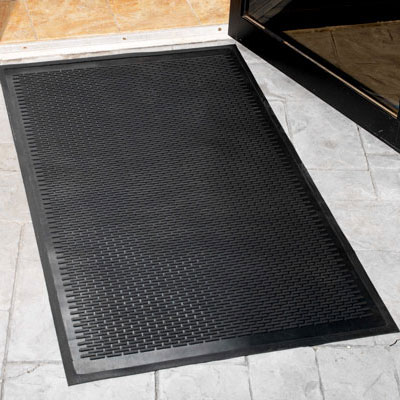 4 X 6 Rubber Scraper Entrance Mat Indoor Outdoor