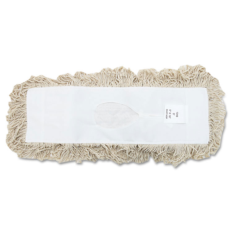 Industrial Hygrade Cotton Dust Mop Head - 18