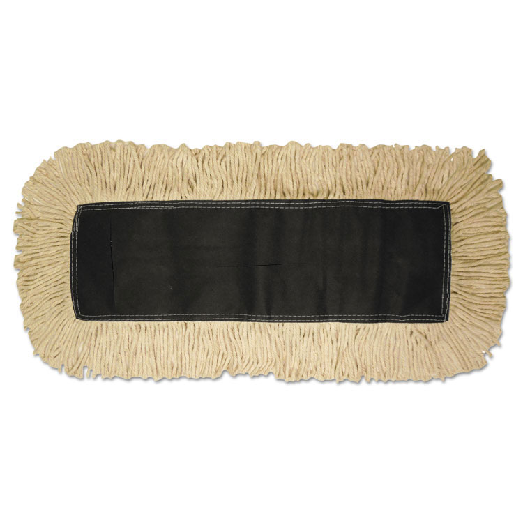 Disposable Cotton/Synthetic Blend Dust Mop Head - 18
