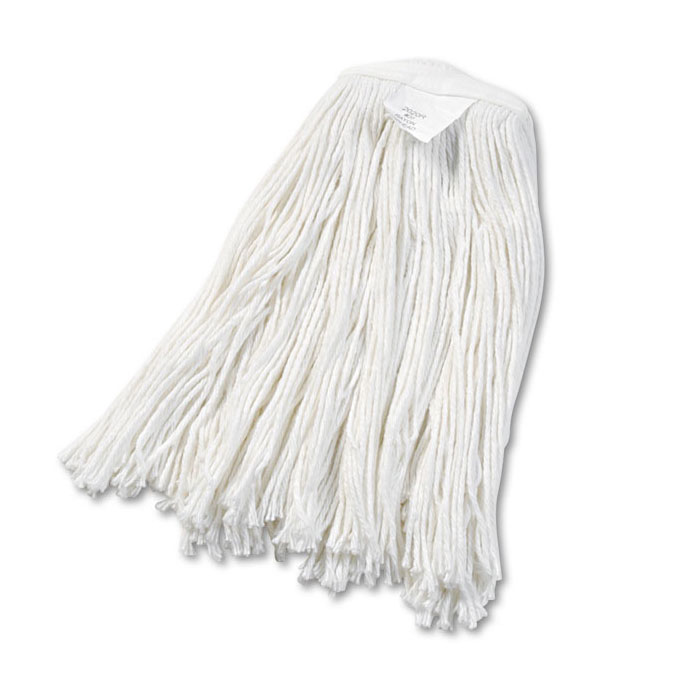 Cut-End Rayon Wet Mop Head, #20 Size - 12 Pack