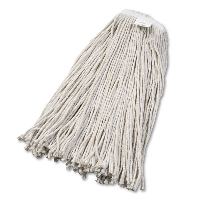 Cut-End Cotton Wet Mop Head, #32 Size - 12 Pack