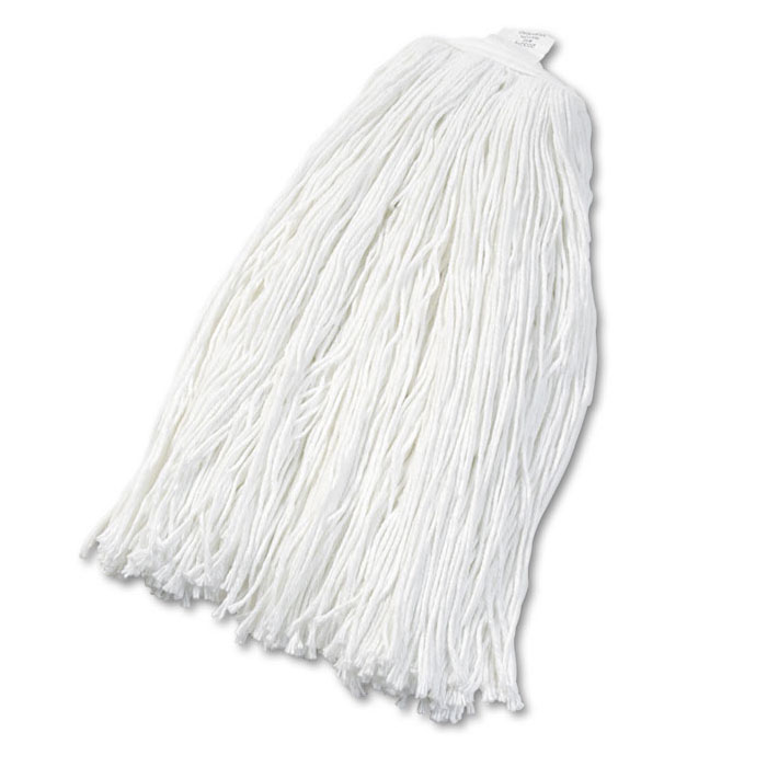 Cut-End Rayon Wet Mop Head, #32 Size - 12 Pack