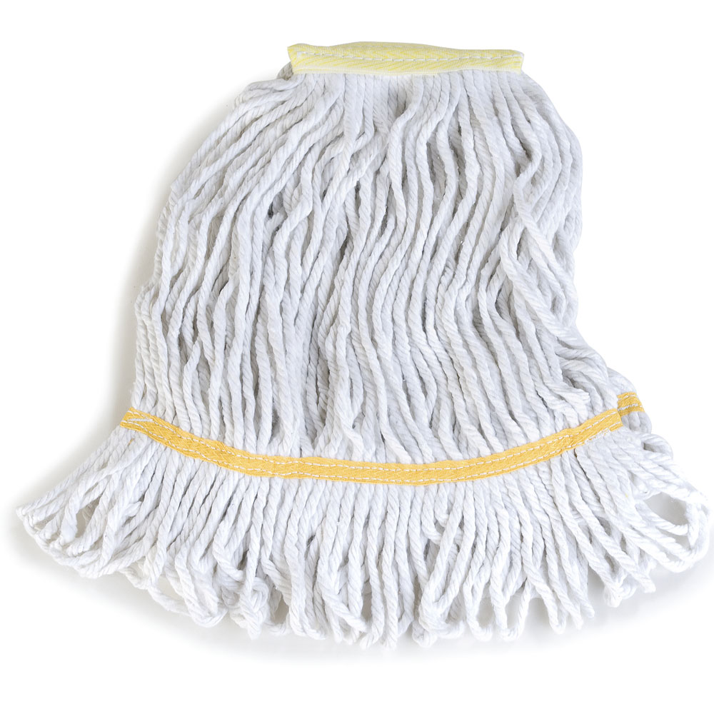 Flo-Pac Small Yellow Band Looped End Wet Mop