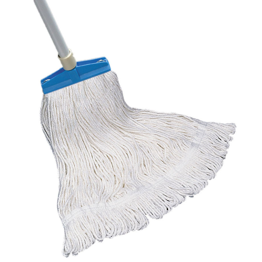 Screw-N-Go Looped-End Finish Wet Mop