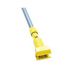 Rubbermaid [H235] Gripper® Clamp Style Wet Mop Handle - Plastic Yellow Head - 54