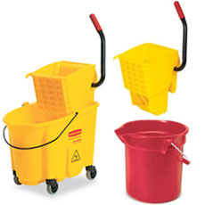 Buckets & Wringers by Rubbermaid Commercial