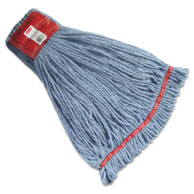 Cotton/Synthetic Web Foot Shrinkless Wet Mop Head - Large