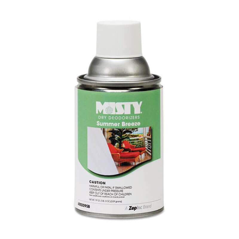 Misty Metered Aerosol Deodorizer Refill - Summer Breeze