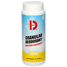 Big D Industries 150 Granular Dry Deodorant Powder - Lemon Scent