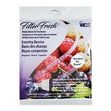 Web FilterFresh Furnace Filter Air Freshener Pad - Country Berry Fragrance