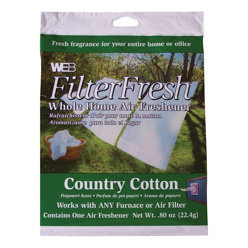 Web FilterFresh Country Cotton Scented Air Freshener Pad