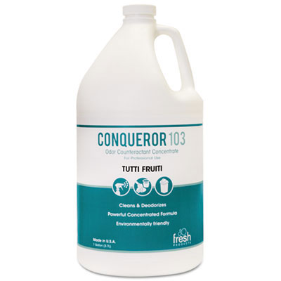 Conqueror 103 Odor Counteractant Concentrate - Tutti-Frutti - 1 Gallon Bottle