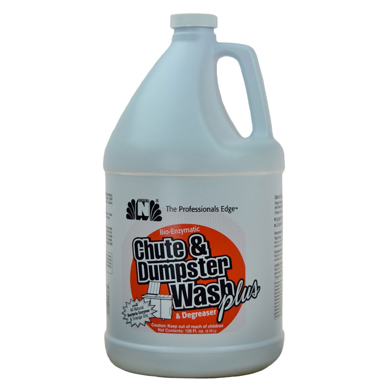 Nilodor Chute & Dumpster Wash PLUS Bio-Enzymatic Cleaner