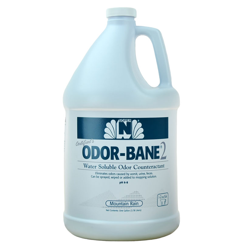 Previous design for the C283-005 Odor-Bane2, water soluble odor counteractant - 1 gallon.