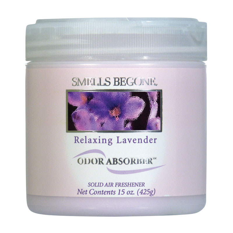 Smells Begone Relaxing Lavender Odor Absorber Solid Air Freshener