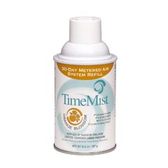 TimeMist® Premium Metered Aerosol Air Freshener 30-Day Refill - Orange Blossom - (12) 6.6 oz. Cans
