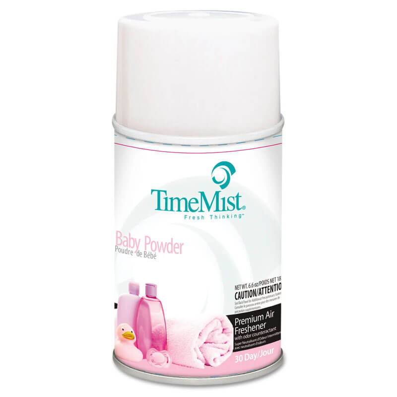 TimeMist Premium Metered Aerosol Air Freshener 30-Day Refill - Baby Powder