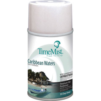 Metered Fragrance Dispenser Refills, Caribbean Waters, 6.6 oz TMS33-5324TMCAPT