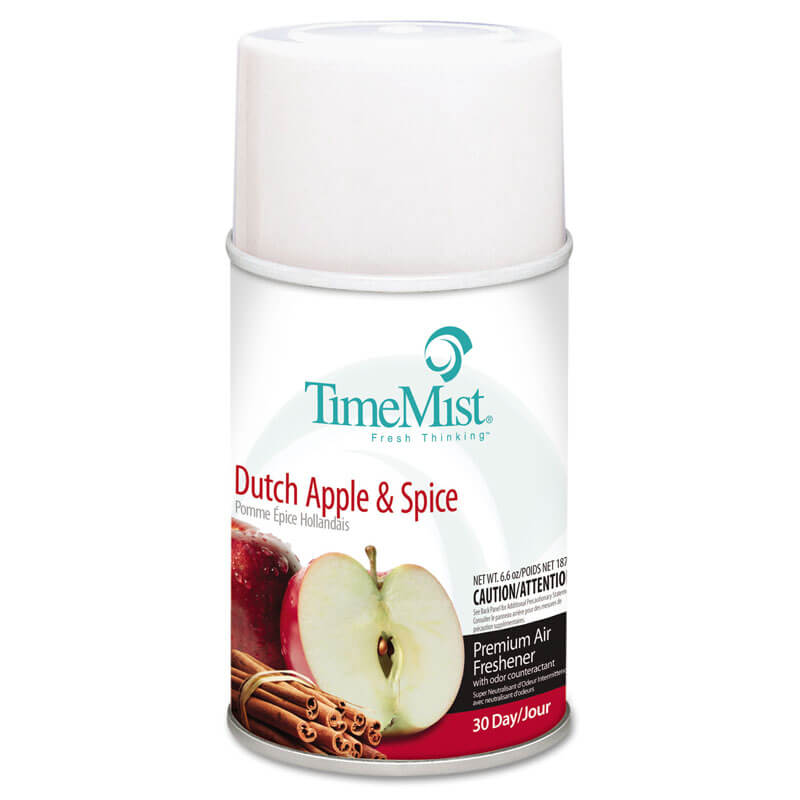 Premium Metered Aerosol Air Freshener 30-Day Refill - Dutch Apple Spice
