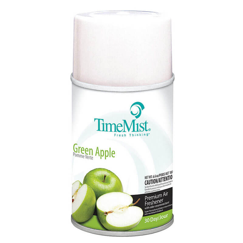 Premium Metered Aerosol Air Freshener 30-Day Refill - Green Apple
