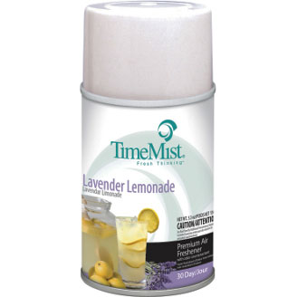 Metered Fragrance Dispenser Refill, Aerosol, Lavender Lemonade, 5.3 oz TMS33-5327TMCAPT