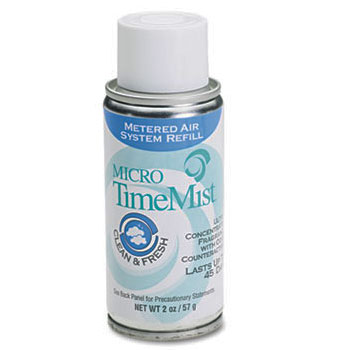 Micro TimeMist Metered Air Freshener Refill - Clean & Fresh