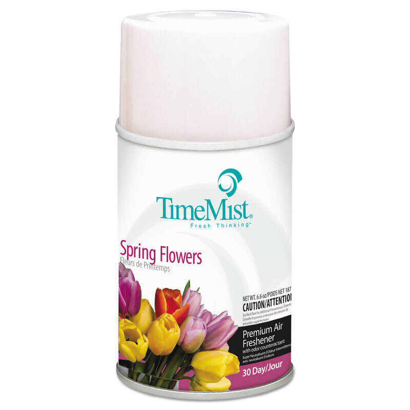 Premium Metered Aerosol Air Freshener 30-Day Refill - Spring Flowers