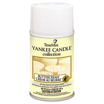 Yankee Candle Metered Aerosol Air Freshener 30-Day Refill - Buttercream