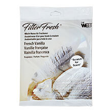 Web FilterFresh French Vanilla Air Freshener Pad