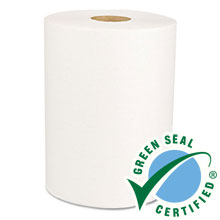 "Green Universal Roll Towels, Natural White, 8"" x 425 ft BWK15GREEN"