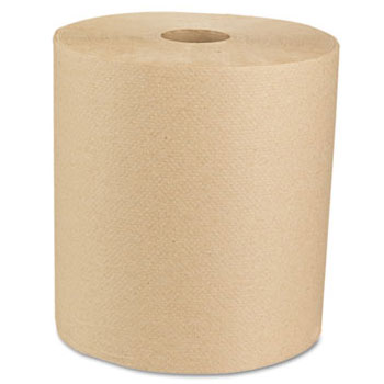 Green Universal Roll Towels, Natural, 8