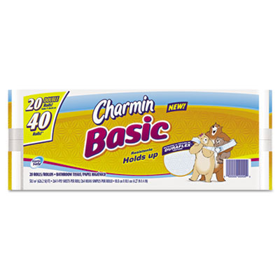 Charmin Basic 1-Ply Toilet Paper Roll