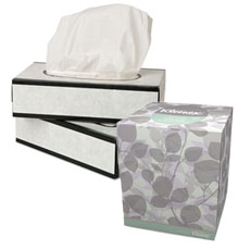 Facial Tissue & Dispensers