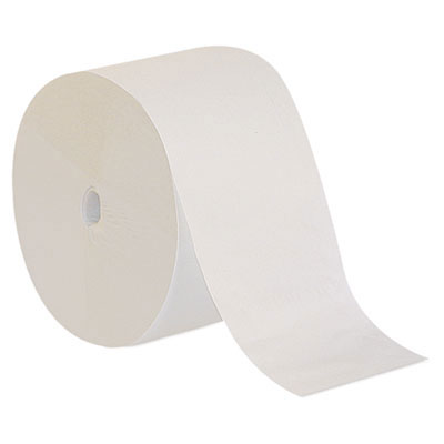 Compact Coreless 1-Ply Bathroom Tissue