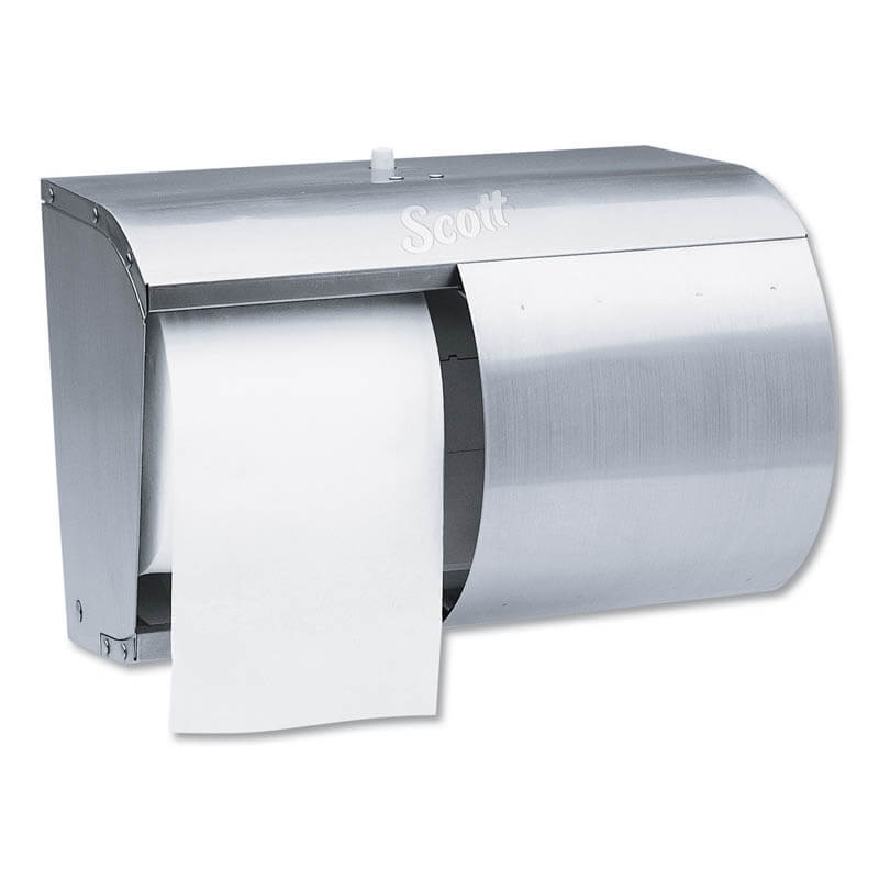 Reflections Coreless Double Roll Tissue Dispenser - Stainless Steel KCC09606