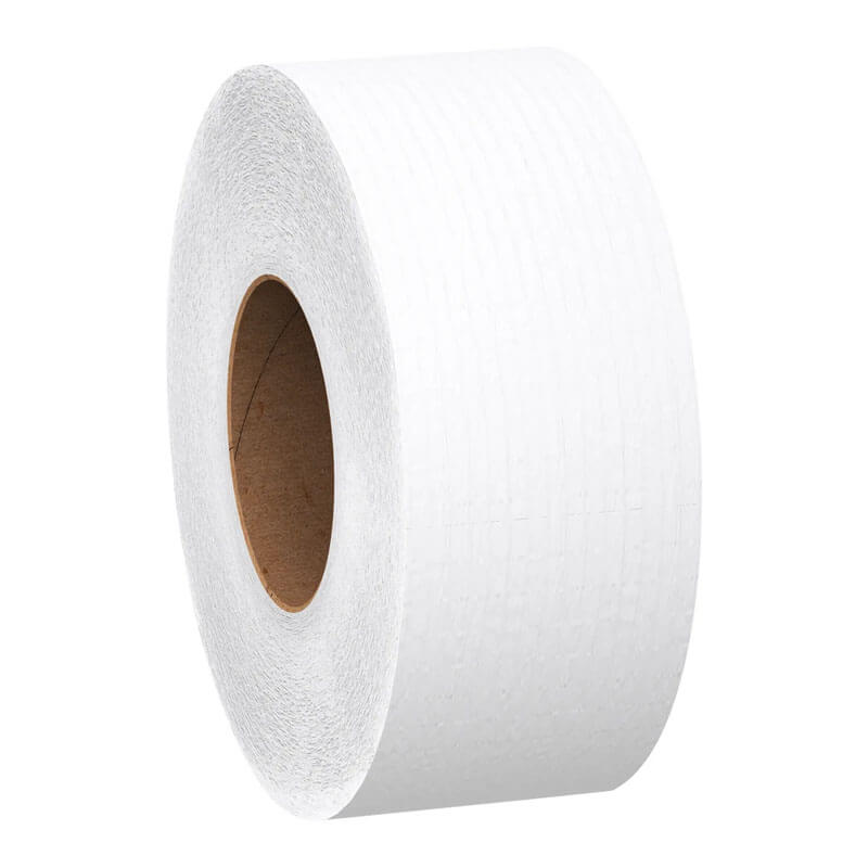 Scott Jumbo Roll Bathroom Tissue - Two-Ply - 2,000 Feet per Roll