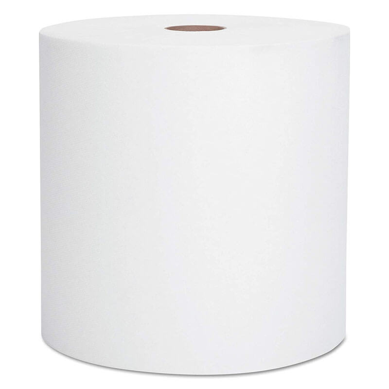 White Scott Hard Roll Paper Towels - 8
