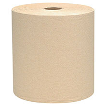 "8"" x 800 ft. Scott Hard Roll Towels - 1.5"" Core"