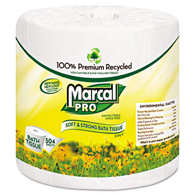 Marcal Pro Bathroom Tissue - 504 Sheets