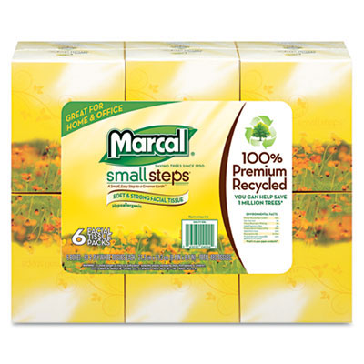 Marcal Small Steps Facial Tissue Pack
