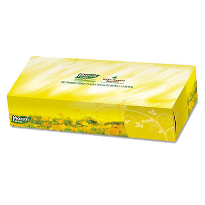Marcal Pro Premium Recycled Facial Tissue Box
