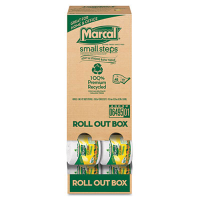 Marcal Roll Out Convenience Pack Bathroom Tissue