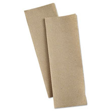 "Multifold Paper Towels, Natural Brown - 9.25 x 9.5"" - (16) 250 Towels PNL8202"
