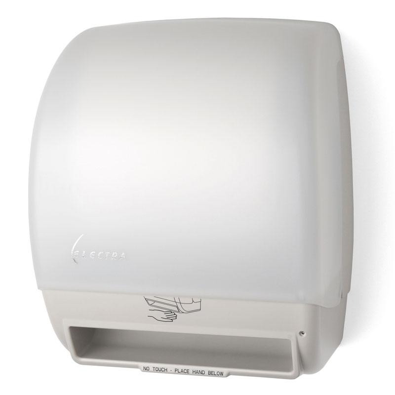 Touchless Towel Dispenser ~ Palmer fixture electronic roll towel dispenser unoclean