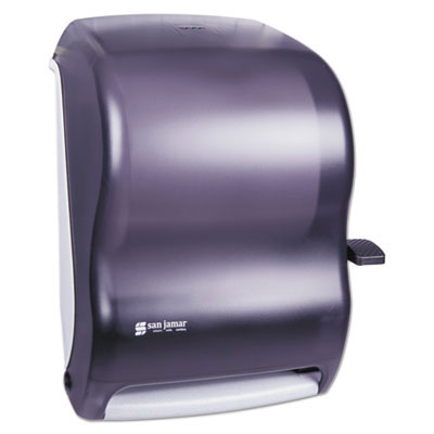 San Jamar Lever Roll Towel Dispenser without Transfer Mechanism - Black