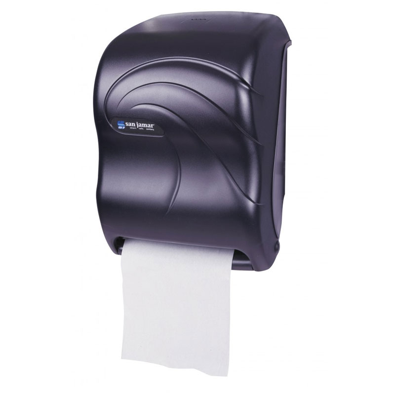 Tear-N-Dry Touchless Roll Towel Dispenser - Black Pearl