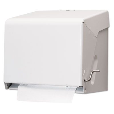 San Jamar Crank Roll Towel Dispenser SANT800WH