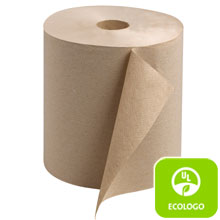 "7.80"" x 800 ft. Natural Universal Roll Towel"