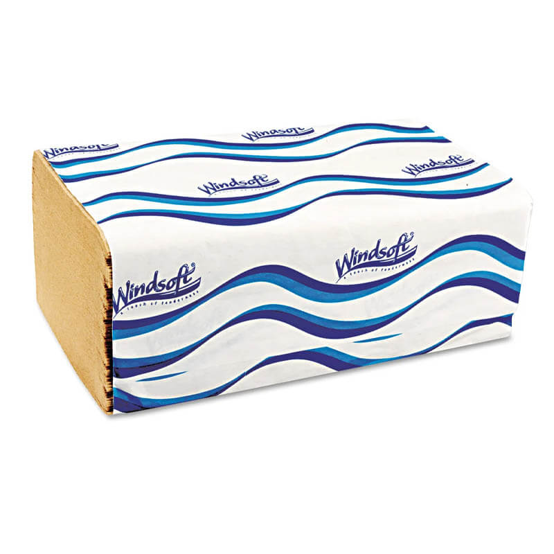 Windsoft Single-Folded Paper Towel
